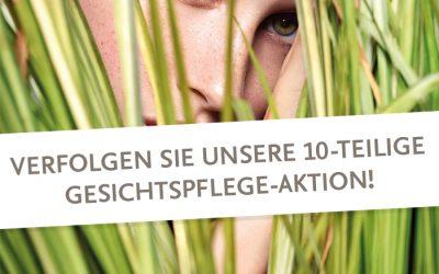 Gesichtspflege-Aktion