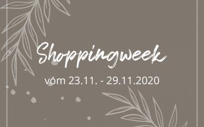 Shoppingweek vom 23.11. – 29.11.2020