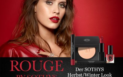 Französischer Glamour, rockig gestylt –  der Sothys Herbst/Winter Look 2021